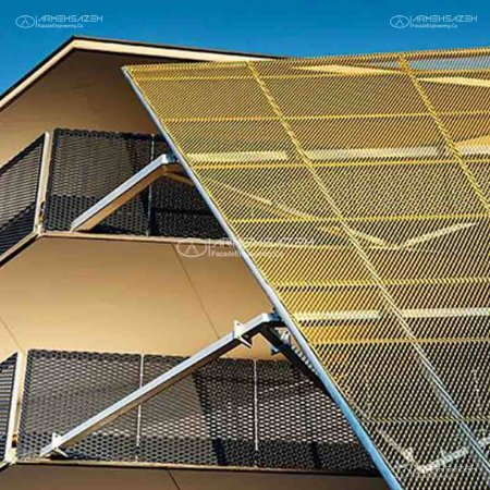 نمای Expanded mesh